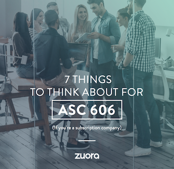 7 Things to think about for ASC 606 book cover